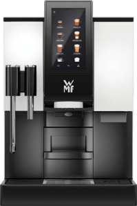 The WMF 1100S is a great office bean to cup coffee machine